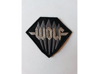 Wolf patch. Broderad. Heavy Metal. NWOTHM.
