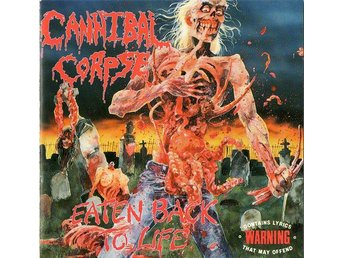 CANNIBAL CORPSE-Rare First Press 1990-Eaten Back To Life-US Death Metal