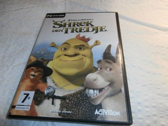 dataspel PC dvd room Shrek den tredje