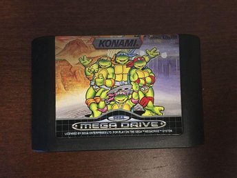 "SEGA Mega Drive ""Turtles the hyper stone heist"""