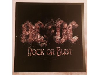 AC/DC, Turnéprogram, 'Rock Or Bust World Tour' 2015 - NY / MINT!