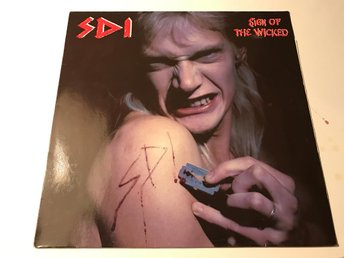 SDI Sign Of The Wicked LP Voivod Tankard Speed Metal Toppskick