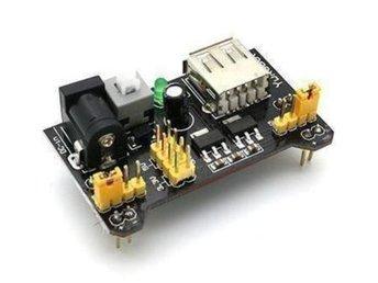 MB102 3.3V/5V Breadboard Power Supply Module - Arduino - Gävle - MB102 3.3V/5V Breadboard Power Supply Module - Arduino - Gävle