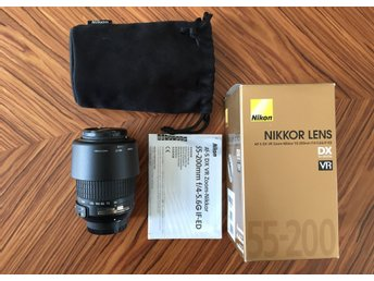 Nikkor 55-200mm f/4-5.6 G IF-ED DX VR
