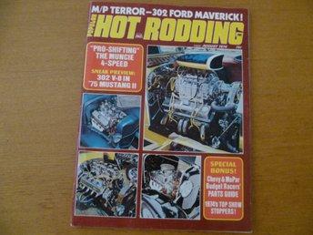 HOT RODDING #8 1974 100 sid! (bil hot-rod custom - Bromölla - HOT RODDING #8 1974 100 sid! (bil hot-rod custom - Bromölla