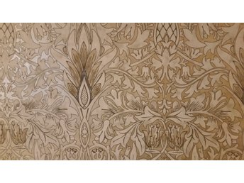 Tapet William Morris & Co Snakeshead Gold linen ny collection 6 m
