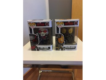 Funko Marvel Pop Ant-Man Yellow Jacket Bobble head figurer