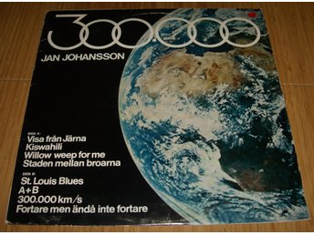 Jan Johansson 300.000 LP Megafon