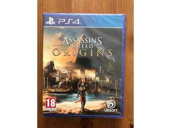 ASSASSINS CREED : ORIGINS / PS4 / NYTT & INPLASTAT