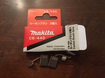 Makita 191927-6 CARBON BRUSHES CB407 CB-407 CB 407