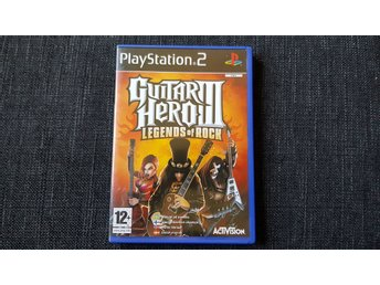 Guitar Hero 3 Legends of rock ps2