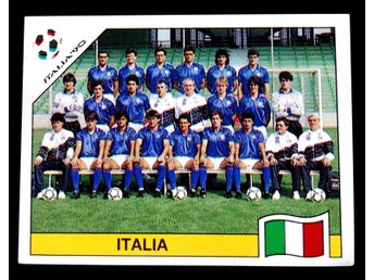 PANINIs  STICKERS - ITALY 90 -   ITALIA   team.