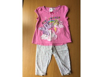 Jättesöt My little pony pyjamas strl 98/104