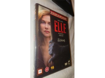 Elle 2016 126 Min French Svensk text DVD  Ny