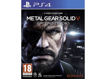 Metal Gear Solid V: Ground Zeroes - Playstation 4
