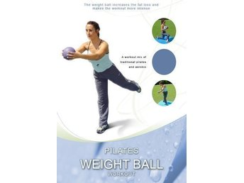 Pilates Weight Ball Workout, träningsDVD, (viktboll, kettle bells, vikter)