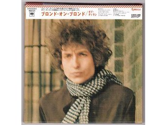 CD Bob Dylan Blond On Blonde MCHP 373 Japanpressad