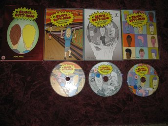 BEAVIS AND BUTT-HEAD VOLUME 3 (42 ST AVSNITT) 3-DISC DVD