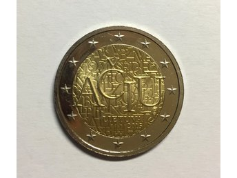2 euro coin - Lithuanian language (Aciu) - Lithuania, 2015