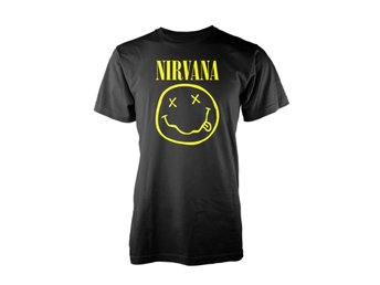 Nirvana - Smiley Logo T-Shirt Large