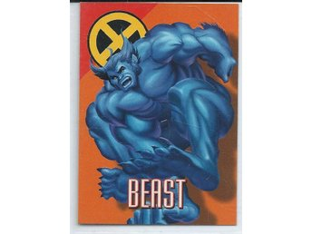 MARVEL X-MEN  SAMLARKORT - BEAST