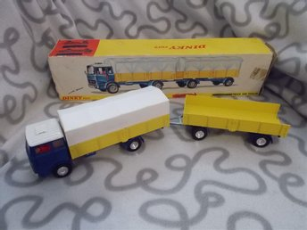 Dinky Toys 917 Mercedes - Benz Truck and Trailer