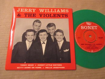 "Jerry  Williams  & The Violents  ""Teddy  Bear,Sweet Little"