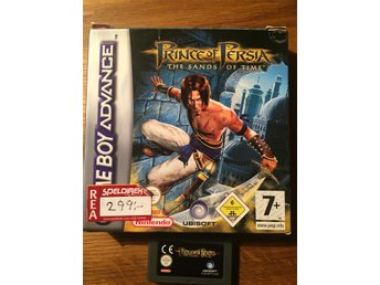 Prince of Percia Sands of Time gba
