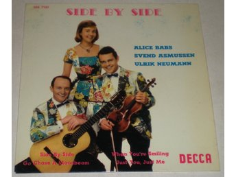 Alice Babs OMSLAG EP Side by side 1959