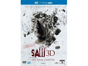 Saw 3D (Blu-ray 3D + DVD) i NYSKICK