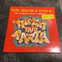 BOB SÍNCLAIR & CUTEE.B - ROCK THIS PARTY. (CDs)