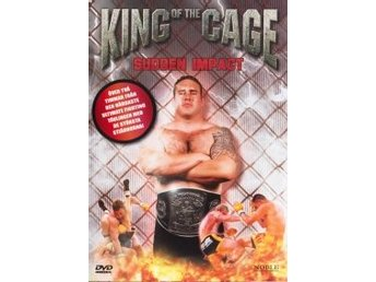 DVD - King of the Cage: Sudden Impact
