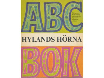 ABC BOK med fina illustrationer från HYLANDS HÖRNA 1966
