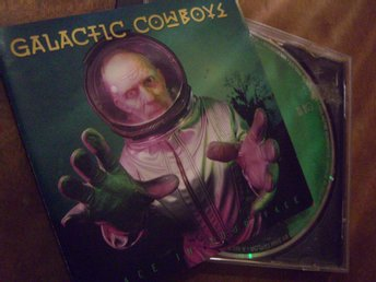 Galactic Cowboys - Space in your face - CD