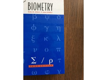 Biometry Sokal & Rolph Third edition