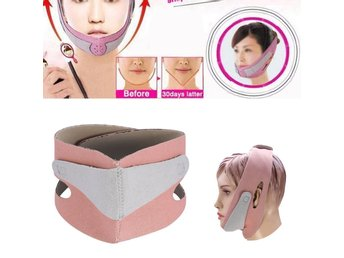 "Face Cheek Lift Up Slim Mask Ultra-thin Belt Strap Band mot ""dubbel haka"""