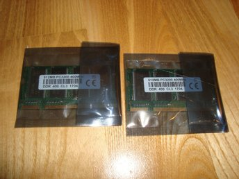 1Gb ( 2 x 512Mb) PC2700 DDR333 minne till Laptop HYNIX