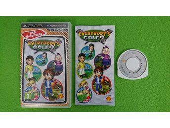 Everybodys Golf 2 Psp Playstation Portable