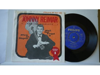 Johnny Reimar & The Scarlets - Down In Napoli      7""