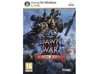 Warhammer 40.000: Dawn of War II - Chaos Rising / PC spel NY