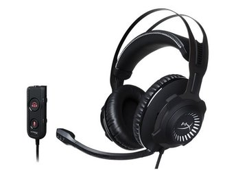 HyperX Cloud Revolver S headset, 3,5mm, 1m kabel, svart