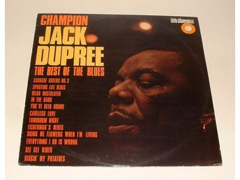 Champion Jack Dupree 1965 LP ~THE BEST OF THE BLUES ~ MINT ~