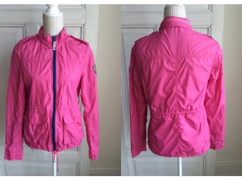 Preppy rosa Hilfiger Denim jacka skaljacka Veronique Solid Field jacket, stl. S