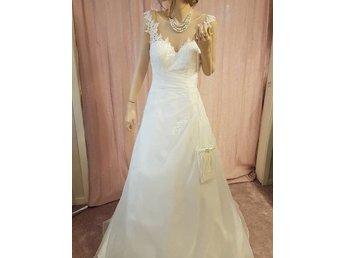 2c60deb1fbcc Brudklänning storlek 44 , bröllopsklänning, spe.. (346536648) ᐈ Köp ...