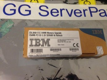 IBM 256MB SDRAM PC133 ECC REG 33L3060
