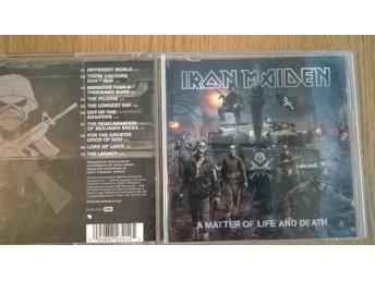 Iron Maiden - A Matter Of Life And Death, CD