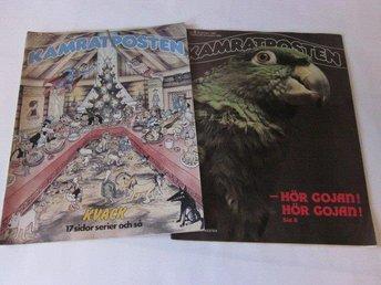 Kamratposten 2 nummer 1984-1985 Howard Jones, Om serier etc - Motala - Kamratposten 2 nummer 1984-1985 Howard Jones, Om serier etc - Motala