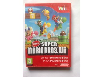NEW SUPER MARIO BROS. NINTENDO Wii