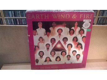 Earth, Wind & Fire - Back on the road, LP