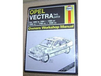 Reperationshandbok Opel Vectra